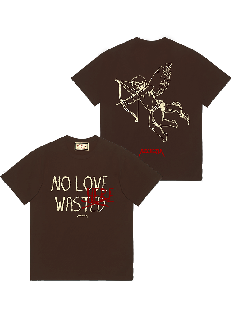 NO LOVE WAS HERE Tee