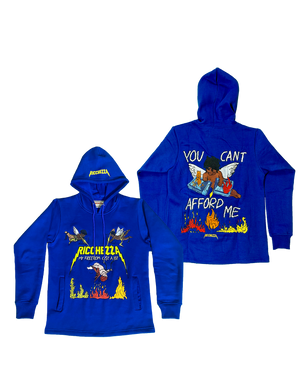 My Freedom Cost Blue hoodie
