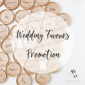 This March: Wedding Favours Promotion
