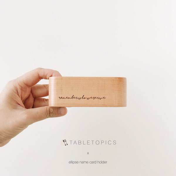 Ellipse Card Holder #TM048