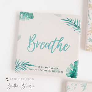 Diatomite Coasters - Breathe