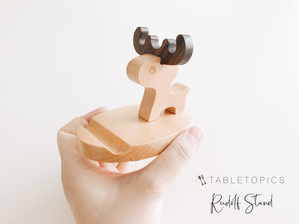 Rudolph Stand #TM156 - non personalised