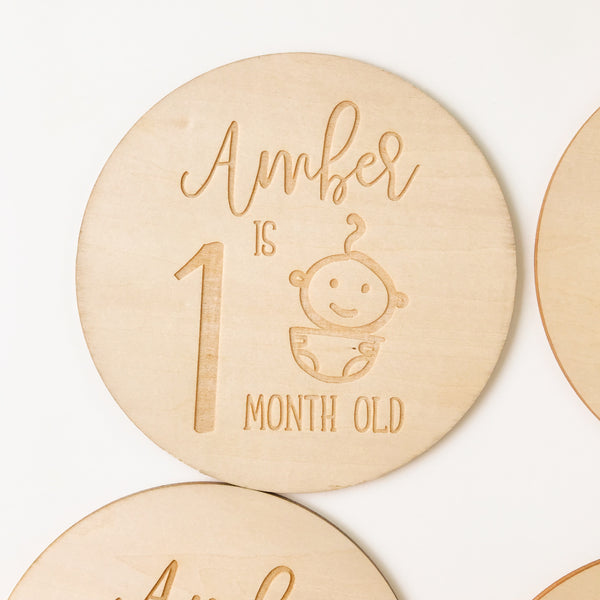 Little One Milestone Cards #TC006
