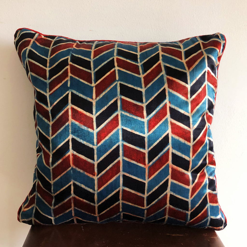 Mashru cushion cover, Festive Collection 07