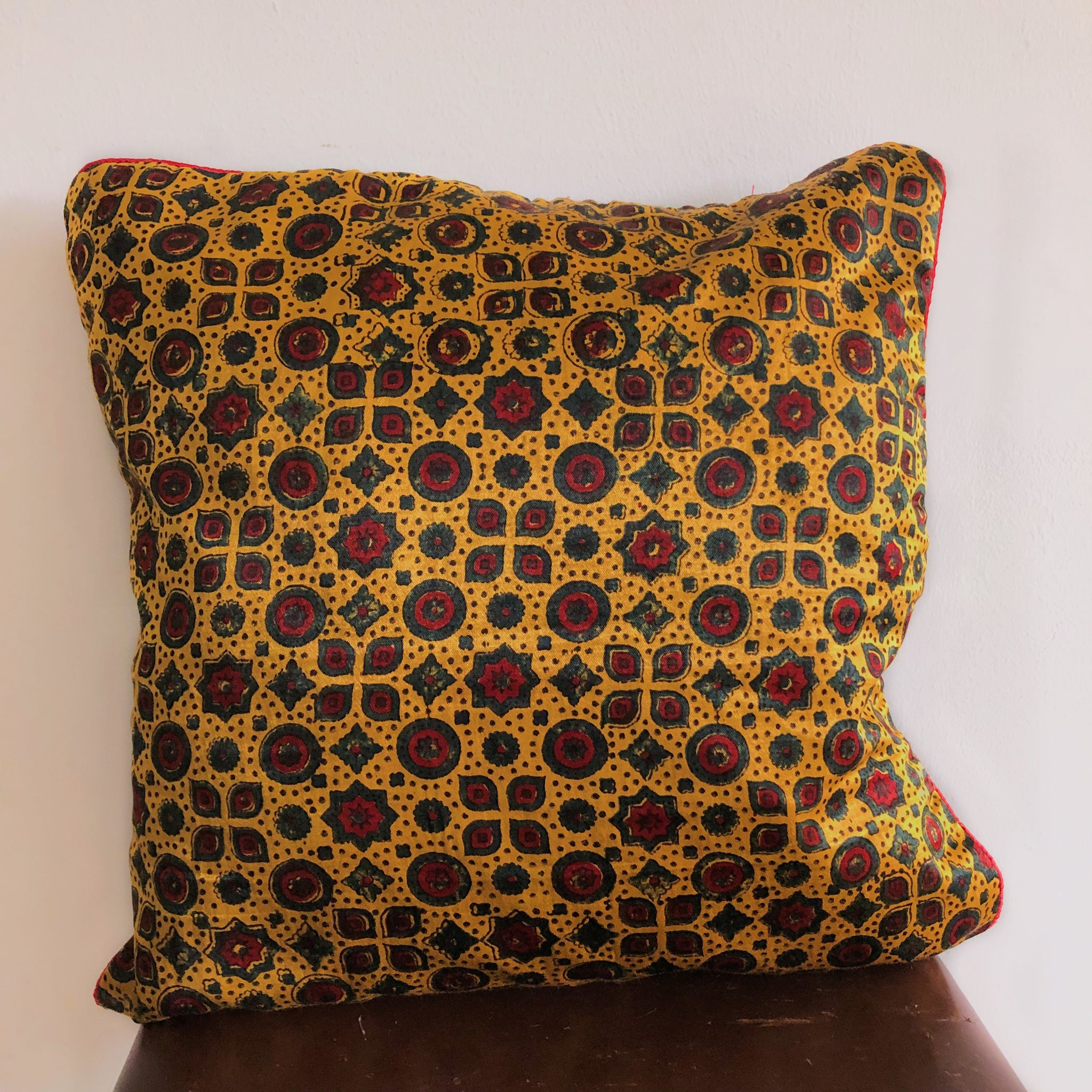 Mashru cushion cover, Festive Collection 08
