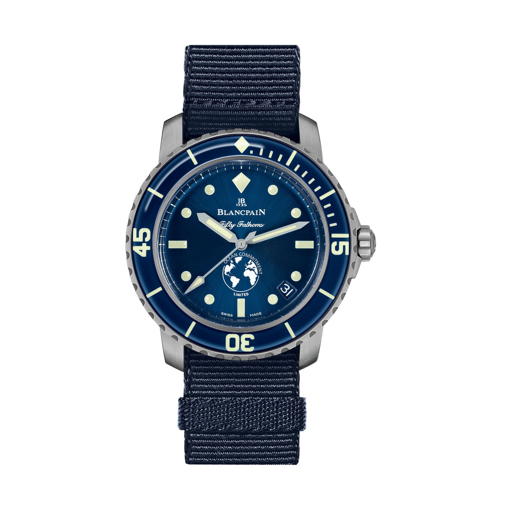 Blancpain Fifty Fathoms Ocean Commitment III (Ref. 5008-11B40-52A)