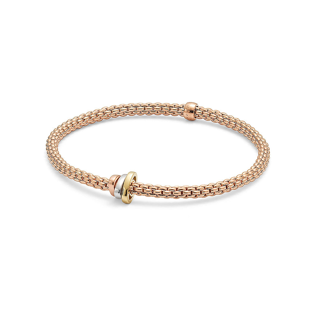 Fope Flex'it Rose Gold Bracelet