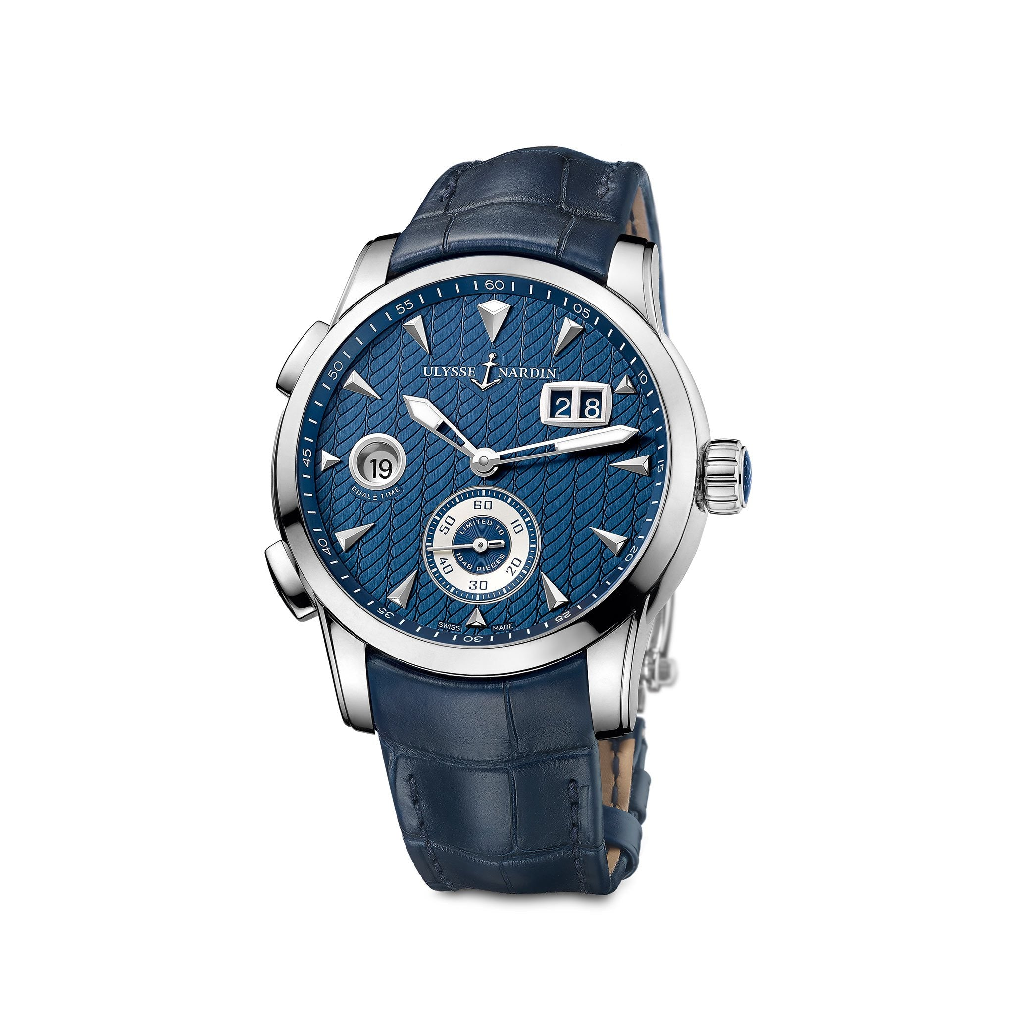 Ulysse Nardin Classic Dual Time (Ref. 3343-126LE/93)