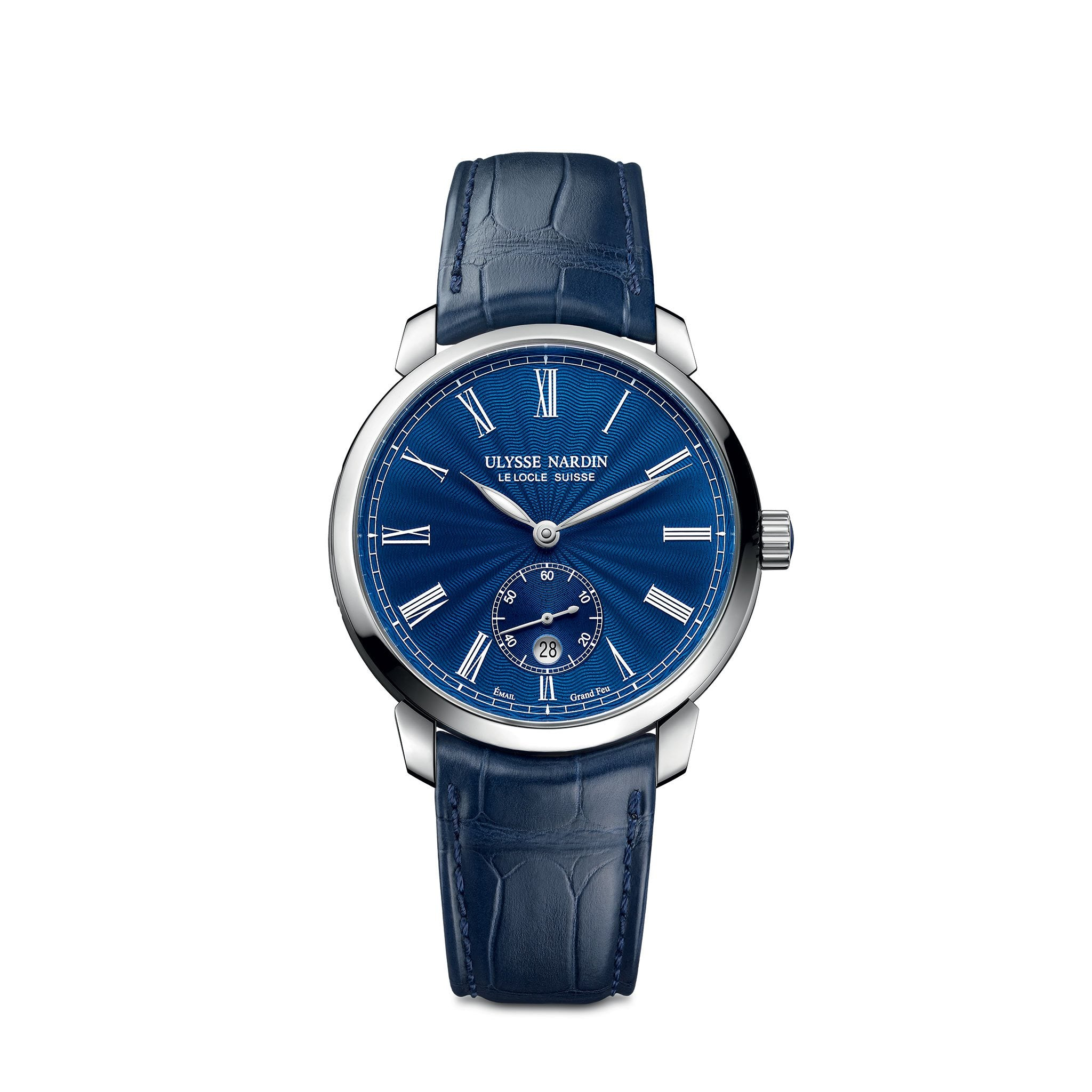 Ulysse Nardin Classico Small Second Manufacture (Ref. 3203-136-2/E3)