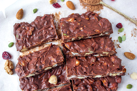 Vegan Chocolate with activated nuts