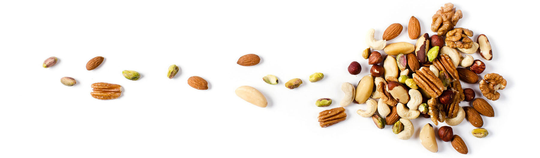 Trail of Organic Activated Mixed Nuts