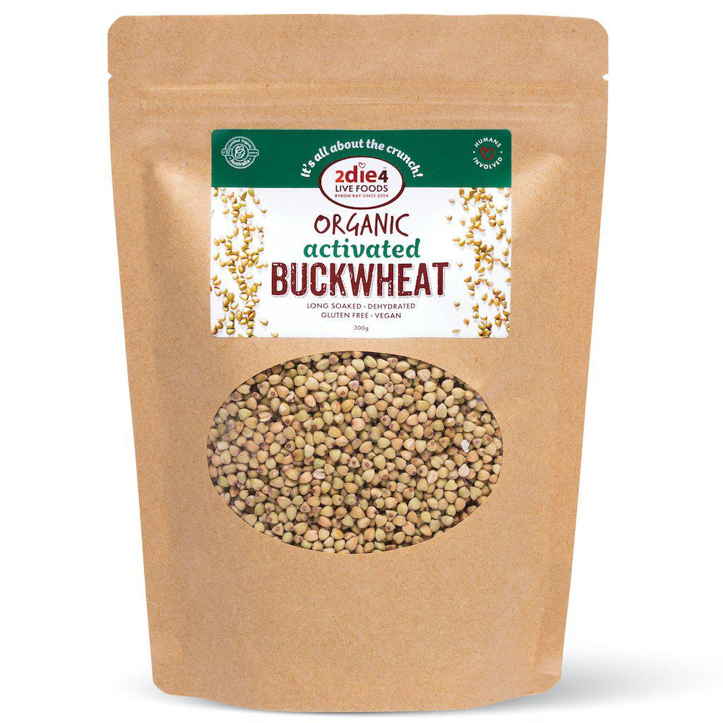 Activated Organic Buckwheat - 2die4livefoods