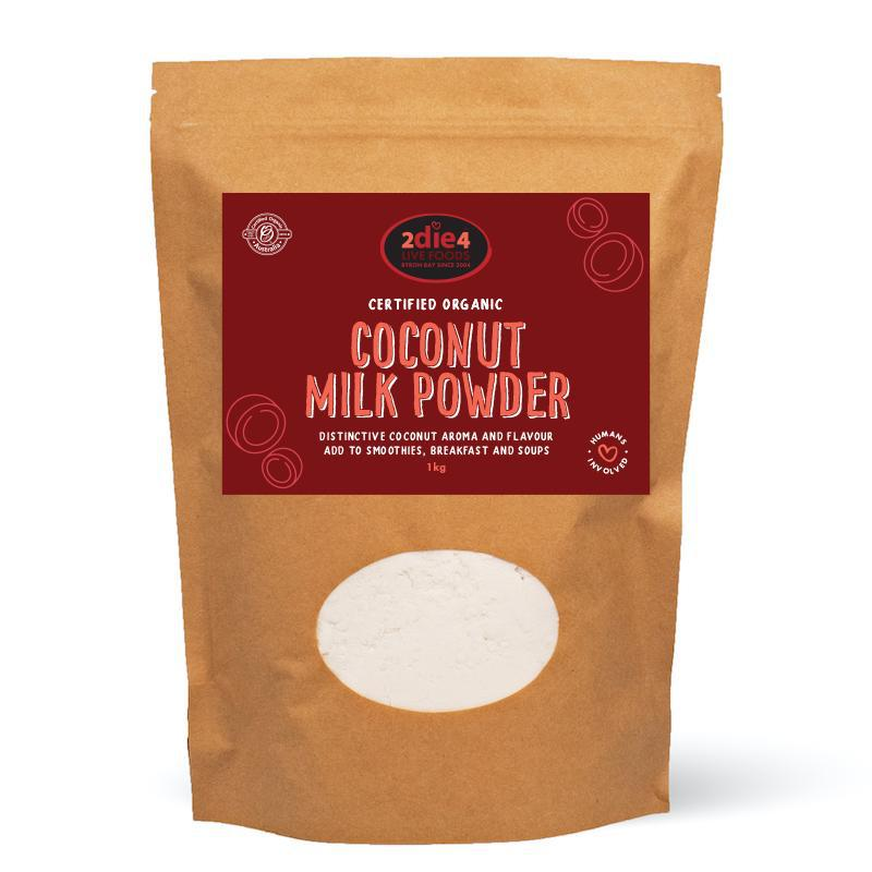 Organic Coconut Milk Powder - 2die4livefoods