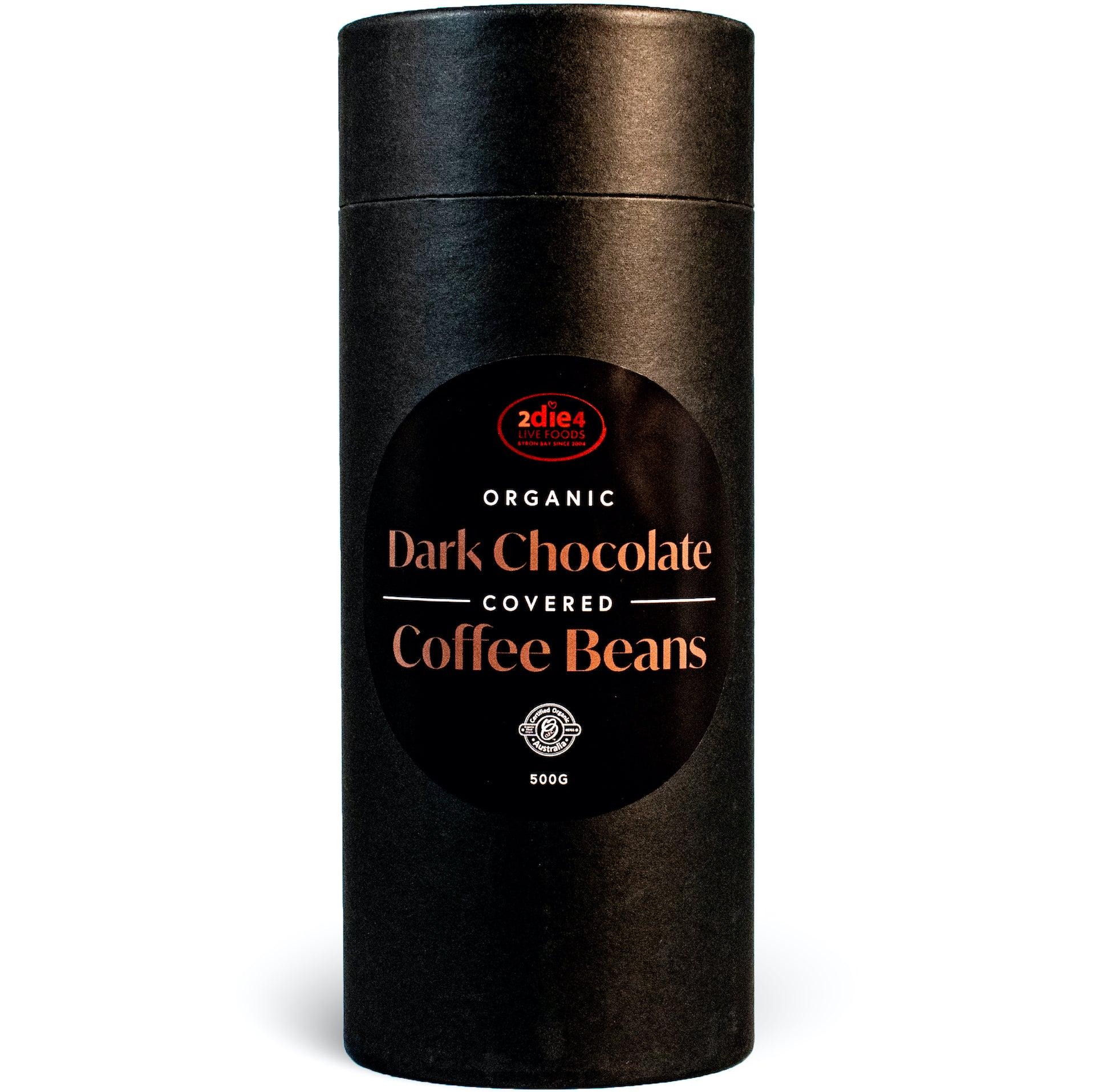 Organic Dark Chocolate Coated Coffee Beans - 2die4livefoods