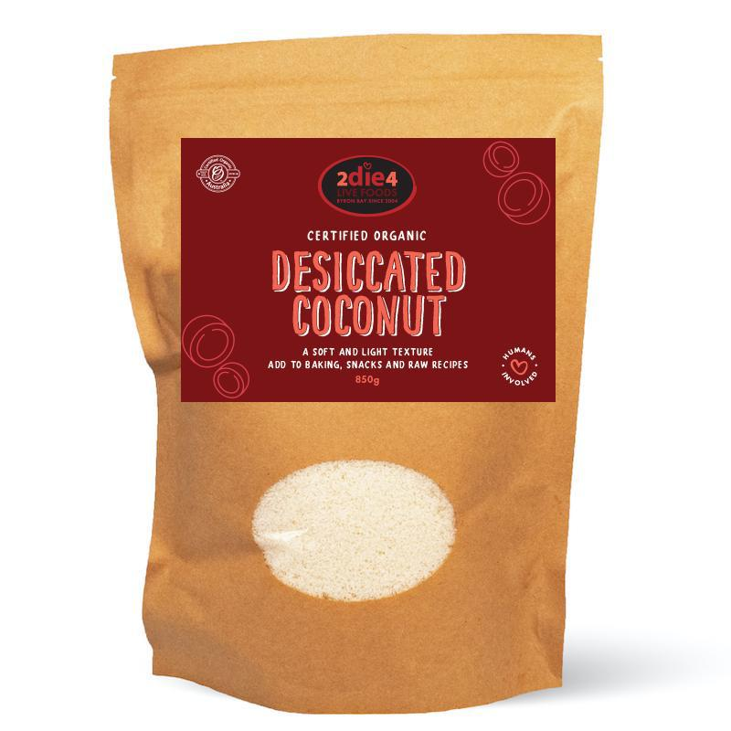 Organic Coconut Desiccated - 2die4livefoods