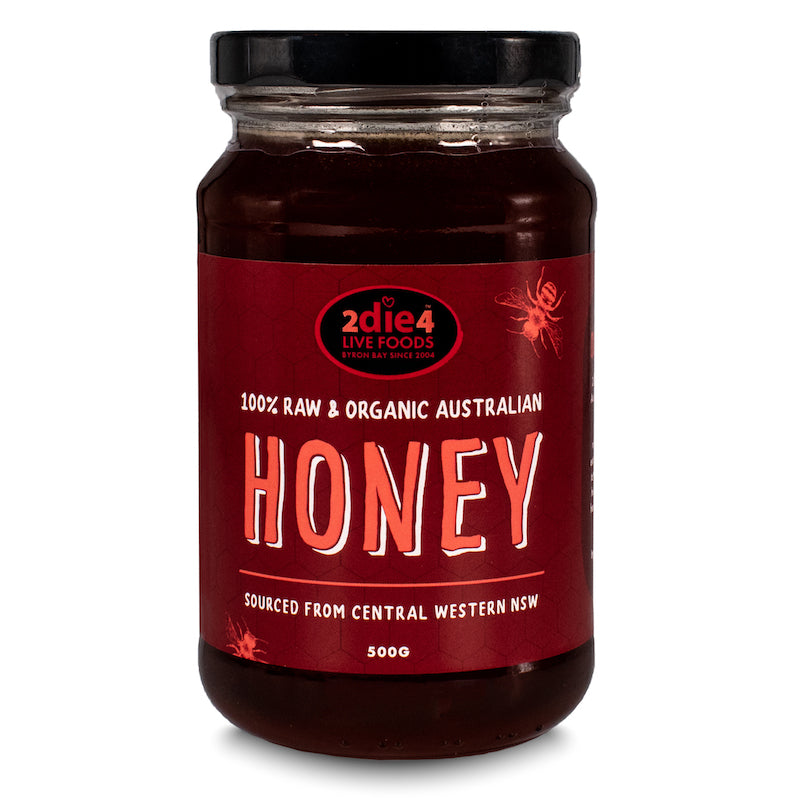 Organic Honey 500g - 2die4livefoods