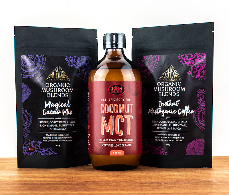 Adaptogenic Coffee and Magical Cacao with MCT