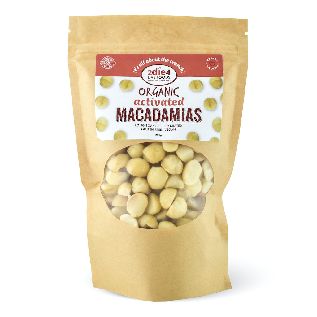 Activated Organic Macadamias