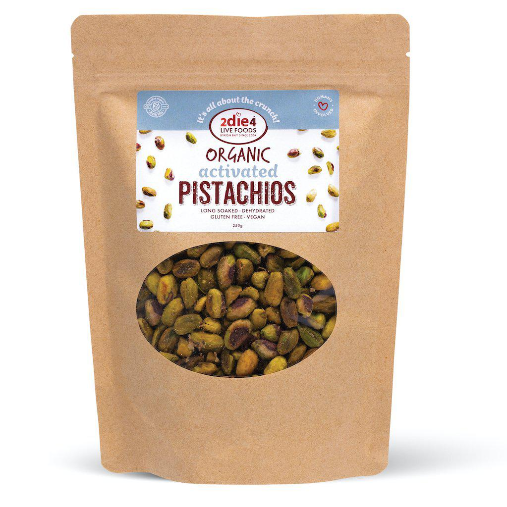 Activated Organic Pistachios - 2die4livefoods