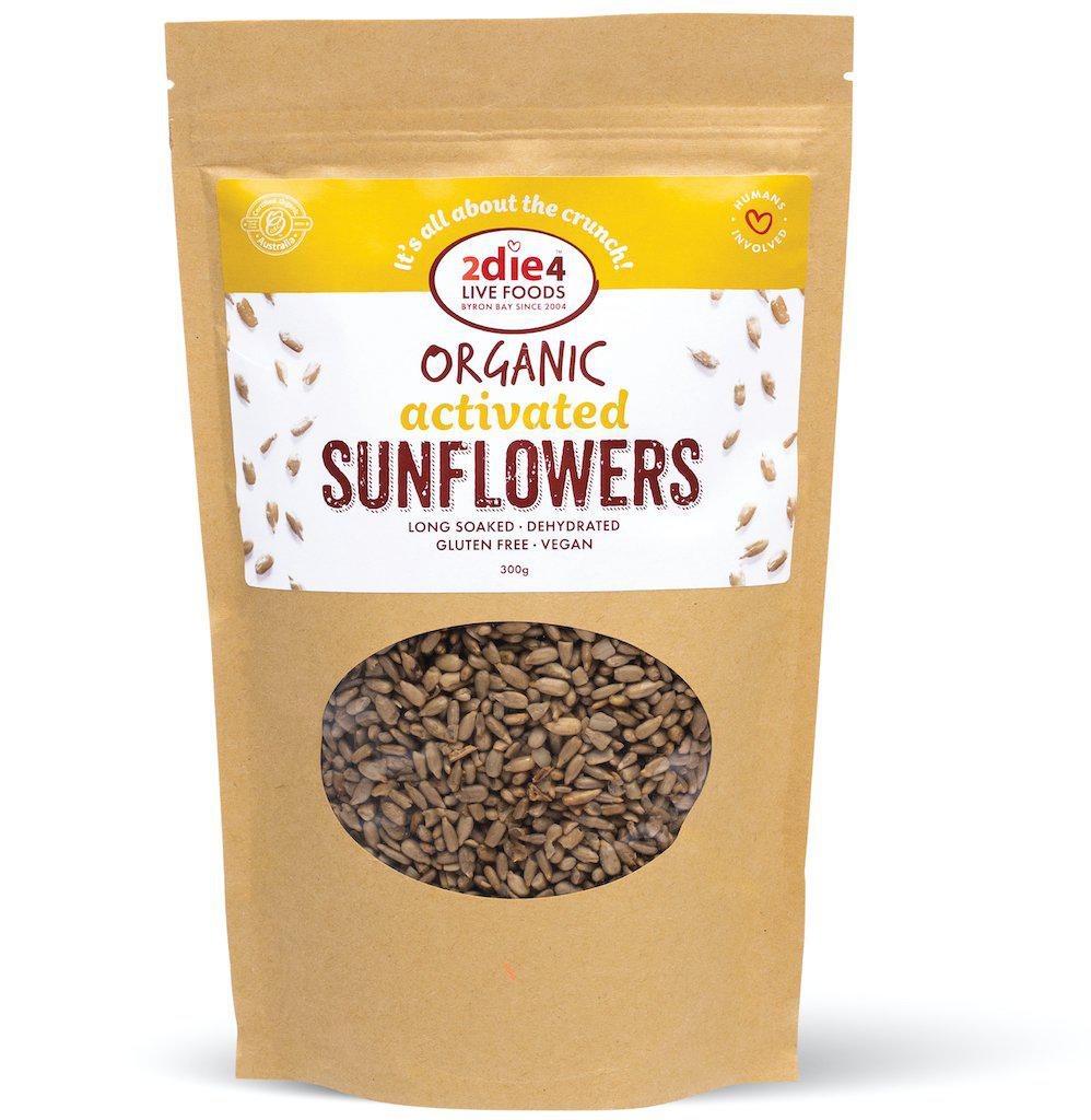 Activated Organic Sunflower Seeds