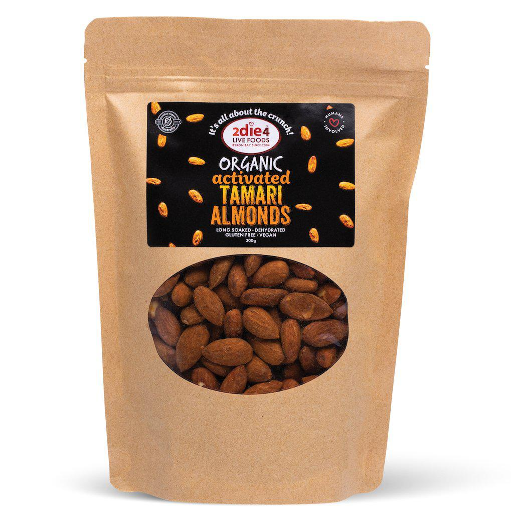 Activated Organic Tamari Almonds