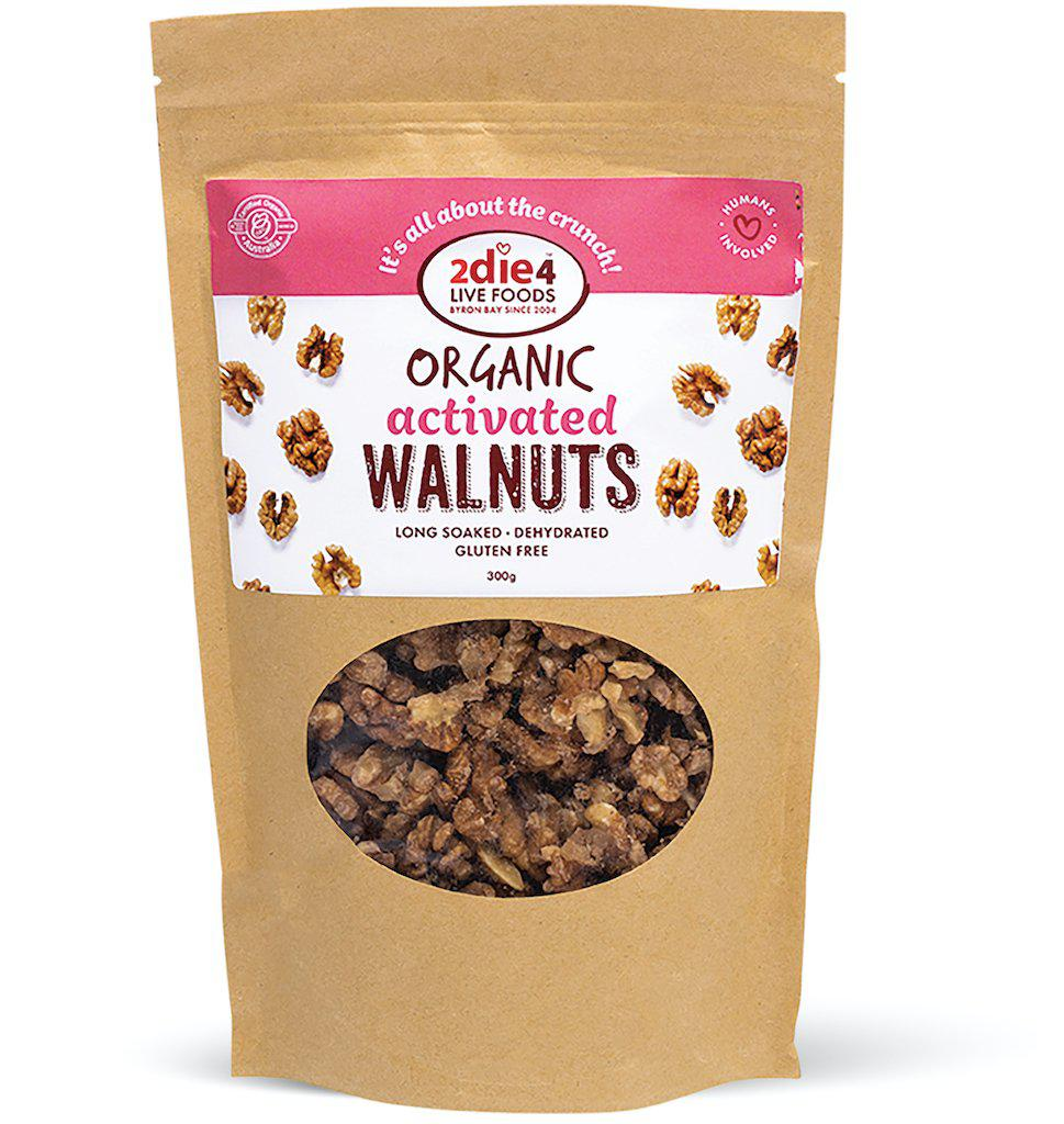 Activated Organic Walnuts - 2die4livefoods