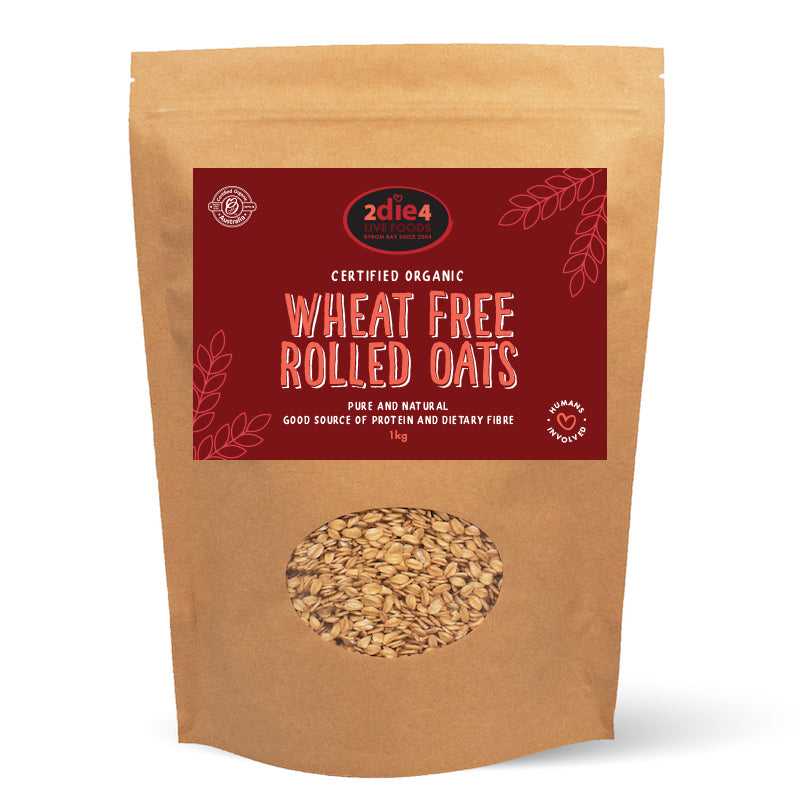 Organic Wheat Free Oats 1kg