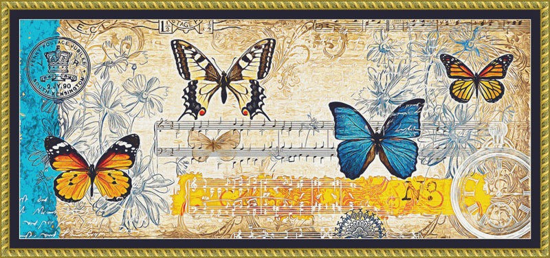 Butterfly Collage PDF PATTERN