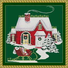 Christmas Cottage PDF PATTERN