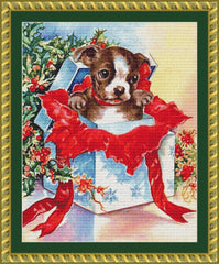 Christmas Puppy PDF PATTERN