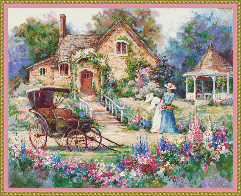 Cottage Afternoon PDF PATTERN