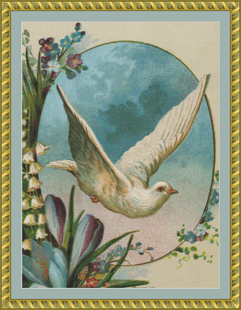 Dove in Flight PDF PATTERN