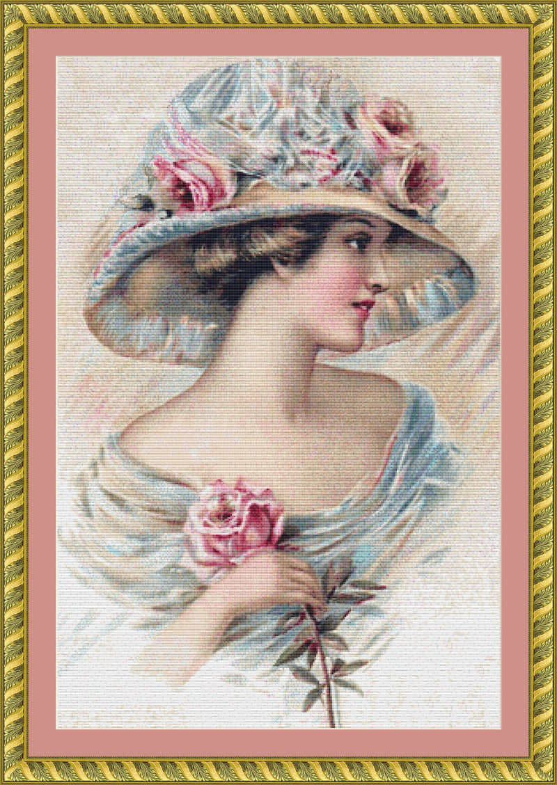 Edwardian Lady PDF PATTERN