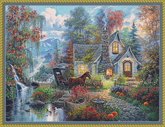 Fairytale Cottage PDF PATTERN