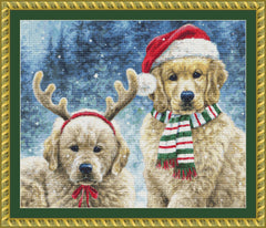 Holiday Puppies (CROP)