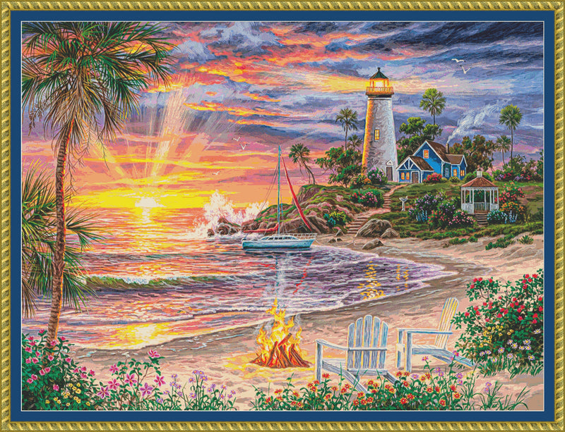 Honeymoon Sunset PDF PATTERN