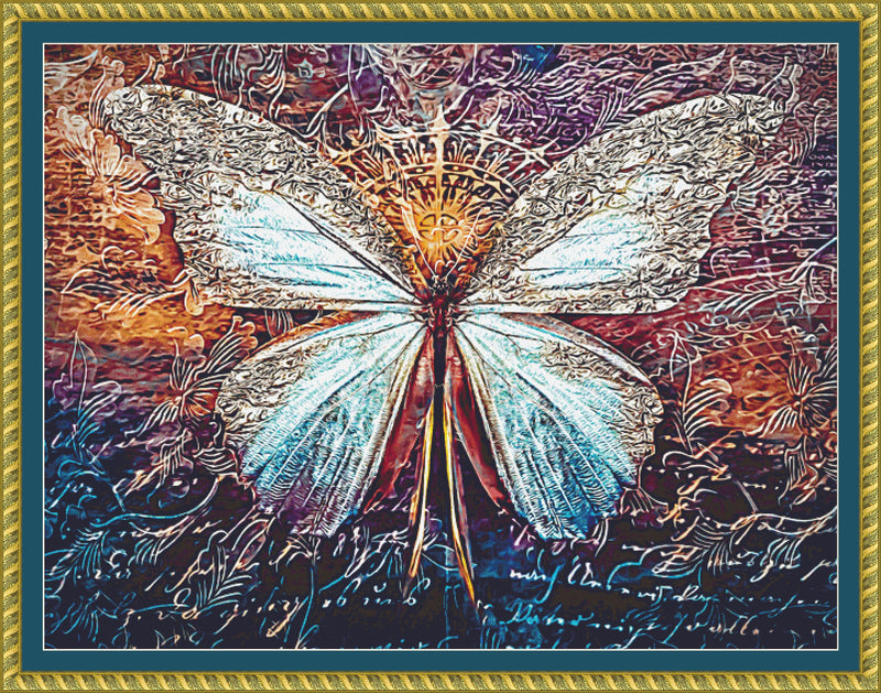 Queen Anne Butterfly PDF PATTERN