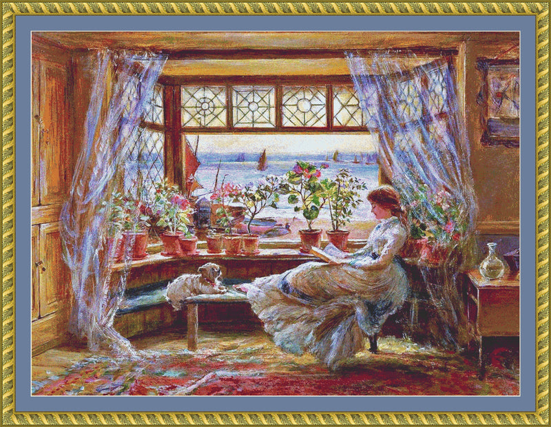 Reading by the Window PDF PATTERN