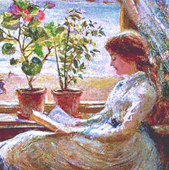 Reading by the Window (CROP)