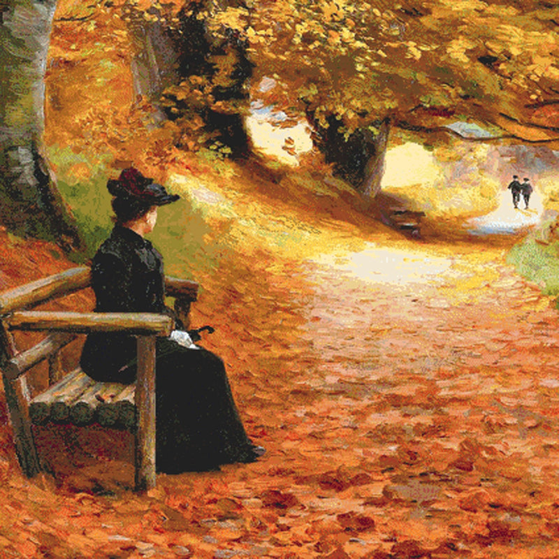 A Wooded Path in Autumn (CROP)