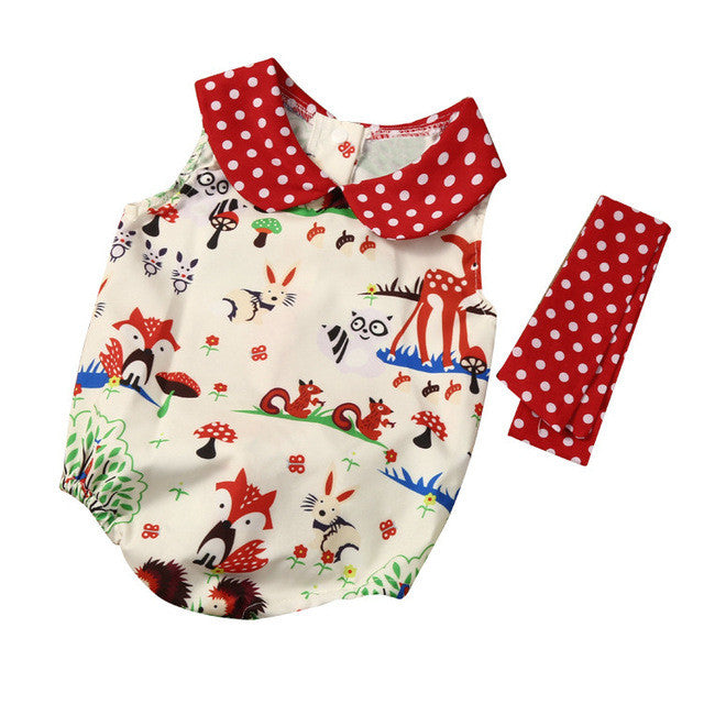 Baby Woodlands Fox Romper