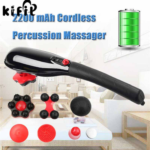 Brand New 5-Speed Cordless Percussion Massager