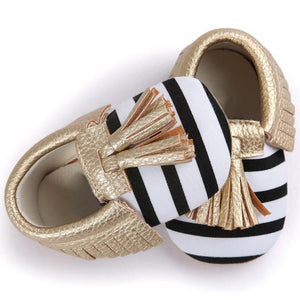Baby Tassels Bowknot Shoes
