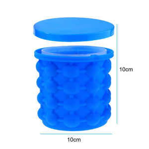 Ice Maker Silicone Space Saving Ice Maker
