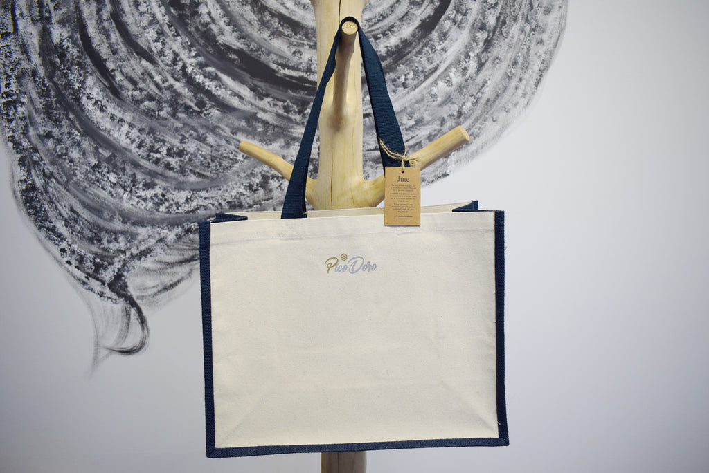 "PicoDoro – Styling – Jute Shopper – ""Schmetterling"""