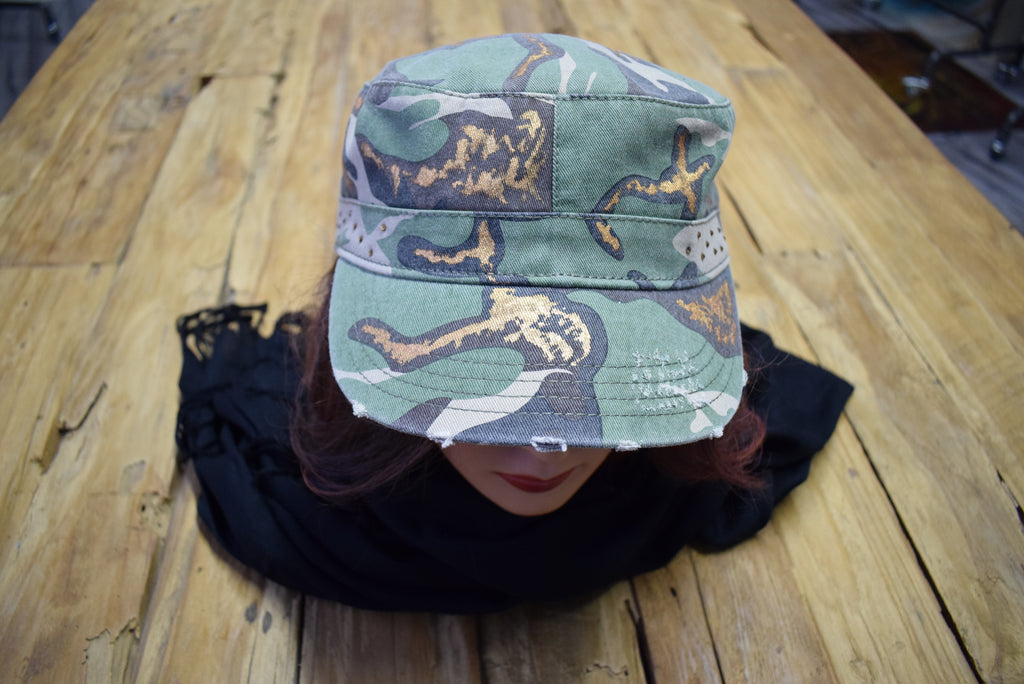 "PicoDoro – Fashion Damen Cap – ""Iowa"""