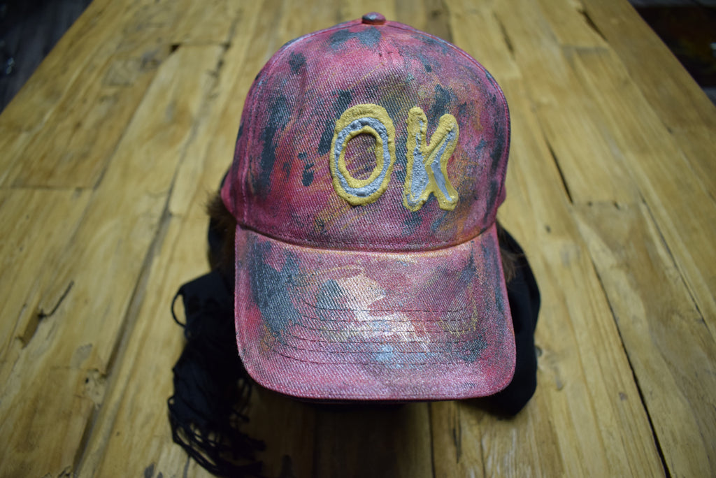 "PicoDoro – Fashion Damen Cap – ""OK"""
