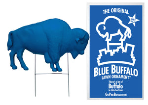 The Original Blue Buffalo Lawn Ornament