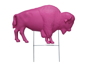 The Original Pink Buffalo Lawn Ornament (26 Shirts Online)