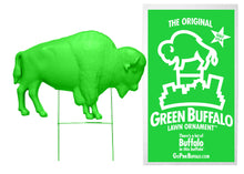 Load image into Gallery viewer, The Original Green Buffalo Lawn Ornament